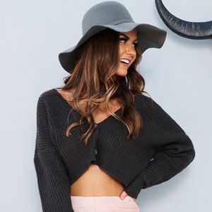 Brand new Nanamacs cropped sweater